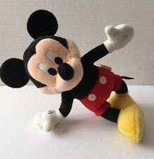 "12"" Applause Mickey Mouse Plush Stuffed Animal Posable Wire Disney Doll Figure"