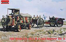 FWD Model B 3 ton & BL 8-inch howitzer Mk.VI << Roden # 713, 1:72 scale