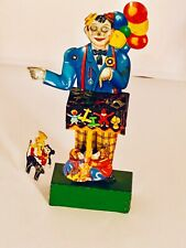 KELLERMAN RARE GERMAN TIN LITHO WIND UP BALLOON MAN WITH MICKEY MOUSE.