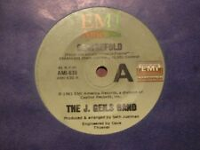 """J.GEILS BAND """"Centrefold/Rage in the cage"""" 7"""" 45rpm Vinyl Record"""