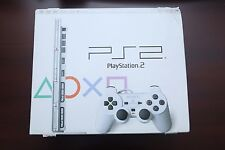 Playstation 2 White Slim Console boxed Japan Import PS2 System US Seller