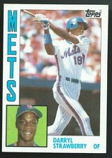(HCW) 1984 Topps #182 DARRYL STRAWBERRY Rookie RC Baseball MLB 02469