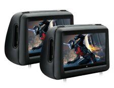 Par monitor reposacabezas Universal Xtrons 10 pulgadas Tactil HD USB SD DVD HDMI