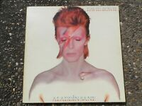 LP DAVID BOWIE Aladdin Sane ORANGE RCA (glossy) GATEFOLD LYRIC INNER RS 1001