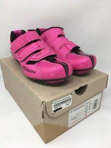 Specialized SPIRITA Road Women's Shoes EU 39.5 US 8.5 Pink PELOTON MSRP $100