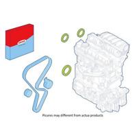 Wellendichtringsatz Motor riemenscheibenseitig - Corteco 289077