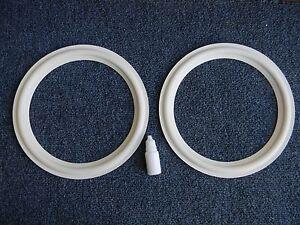 JBL LE 10,10A Replacement Foam White Edge for JBL LE-10,10A PR10 pair