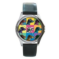 Brittany Spaniel Watch - Brittany Pop-Art Wristwatch
