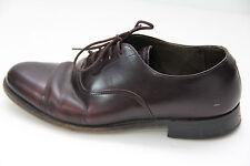 Vintage Keith Highlander Mens Sz 8 Dress Shoes Oxford Loafers Burgundy Brown USA