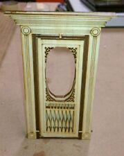 Victorian Door 1:12 scale with screen door and frames #4