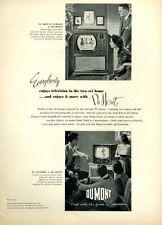 1951 Du Mont PRINT AD Television Mt Vermont Sumter  Great detailed vintage ad