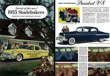 Studebakers 1955 - Newest of the New! 1955 Studebakers, America's Most Advanced