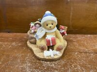 Cherished Teddies Evan May Your Christmas Be Trimmed In Happiness 484822 Signed