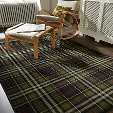 Flair Rugs Glen Kilry Tartan Check Runner Black 60 X 230 Cm