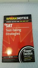 SAT: Test-Taking Strategies (SparkNotes Power Tactics)Jan 5, 2005 by SparkNotes