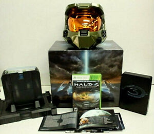 Legendary Halo 3 Collector's Edition Master Chief Helmet / Stand / Games / Box