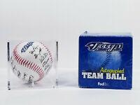 Toronto Blue Jays Autographed Team Baseball Replica FedEx Case