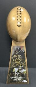 Jerome Bettis Signed Super Bowl XL Trophy Auto Steelers Roethlisberger Beckett