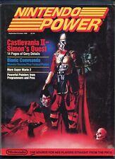 1988 Nintendo Power Magazine 2nd Issue September October NES Castlevania II Nice