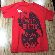 DGK Dirty Ghetto Kids Shirt Size S #5185