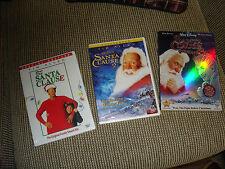 *The Santa Clause Trilogy 1/2/3 DVD LOT OF 3  TIM ALLEN