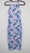 Gorgeous MISS SELFRIDGE Floral Print Stretch Midi Dress size UK 6