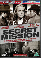 Secret Mission DVD (2015) Hugh Williams, French (DIR) cert U ***NEW***