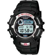 Casio G2310R-1 Men's Tough Solar World Time Alarm Chrono Black G Shock Watch
