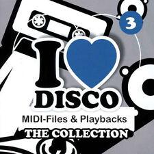 Disco Collection 3 - Midifiles inkl. Playbacks