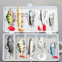 Soft Fishing Lure Wobblers Swimming Bass Bait Silicone Fishing Lures Fish Jig