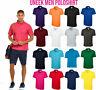 New Mens & Womens Classic Polo Shirt Casual Sports Size XS - 6XL Poloshirt Uneek