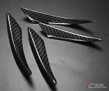 Carbon Fiber Canards Front Bumper Fit BMW E92 F30 F80 F82 335i 435i M2 M3 M4 CF