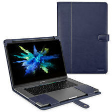 "TETDED Premium Leather Case for Apple MacBook Pro 15"" Touch Bar 2017 LC Blue"