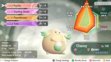Pokemon Let's Go Shiny Chansey Max 6IV / AV [Fast Delivery] Original Owner