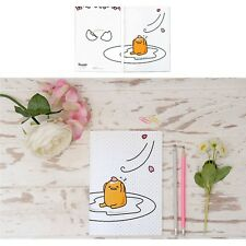 Sanrio Gudetama Lazy Egg A5 Lined Notebook Note Pad : Egg with Spring Petals