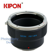 Kipon Adapter for Pentax 67 P67 Mount Lens to Fujifilm GFX Medium Format Camera