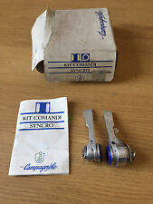 NOS Campagnolo Syncro, 7 Speed Indexed/Friction Shifter Set New In Box