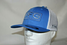 Columbia Pfg Hook Patch Flexfit Fitted Mesh Ball Cap in Harbor Blue L/Xl