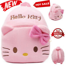 Hello Kitty Cute Kids School Backpack Girls Boy Bag Children Plush Backpack Gift