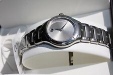 Movado S.E. Sports Edition 0605792 Watch Steel Silver Crystal NEW IN BOX
