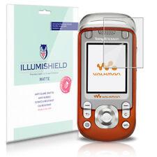 iLLumiShield Anti-Glare Matte Screen Protector 3x for Sony Ericsson W600i