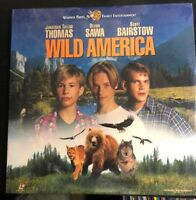 WILD AMERICA Laserdisc LD WIDESCREEN FORMAT NEW SEALED HARD TO FIND VERY RARE!