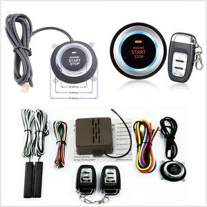 8 Pcs 12V 6mA Vehicle Alarm Start Security System Key Push Button Switch Remote