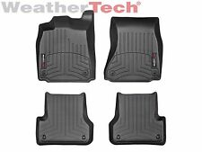 WeatherTech Car Floor Liner for Audi A6/S6/A7/S7/RS7 - 1st & 2nd Row - Black