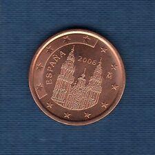 Espagne - 2006 - 5 centimes d'euro - Pièce neuve de rouleau -