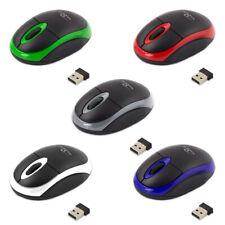 PC Maus Kabellos USB Wireless Mouse Computer Notebook Laptop Funk 2.4Ghz neu