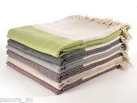 DIAMOND Turkish Cotton Throw Blanket Sofa Bed Cover Spread Single Size 140x245cm