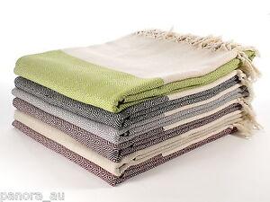 DIAMOND Throw Blanket Sofa Bed Cover Spread Turkish Cotton Single Size 140x245cm