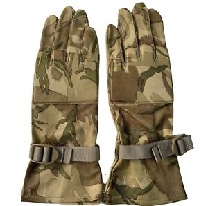 MTP CAMO WARM WEATHER LEATHER COMBAT GLOVES Shooting sniper , Sizes  British NEW