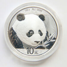 auction China 2018 panda 30g silver coin S10Y